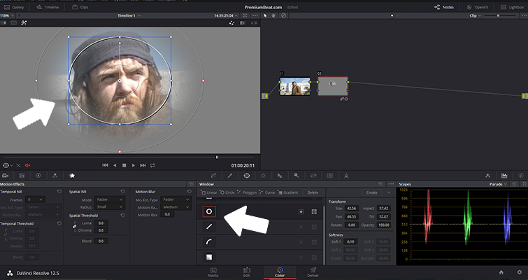 Production Tip: 5 Simple Ways to Fix Out-of-Focus Footage — DaVinci Resolve