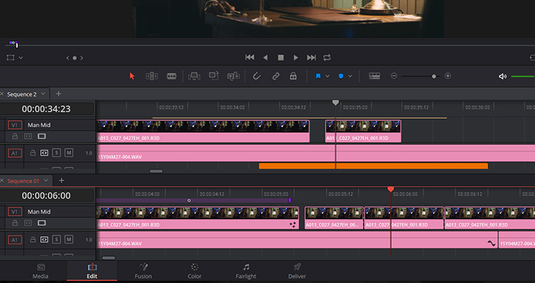 The New Features of DaVinci Resolve 15's Edit Page — Adding Timelines