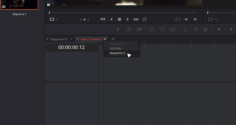 The New Features of DaVinci Resolve 15's Edit Page — Add Timeline