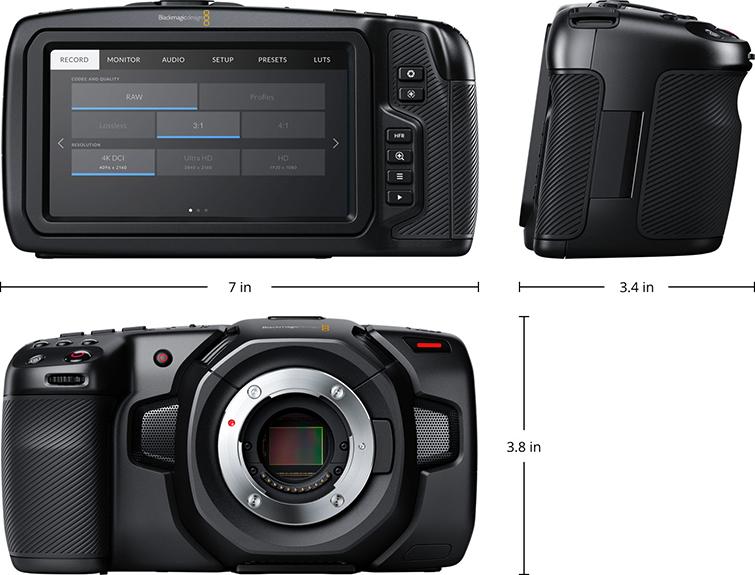 Blackmagic Has Released A New Pocket Cinema Camera . . . Finally — Camera Specs