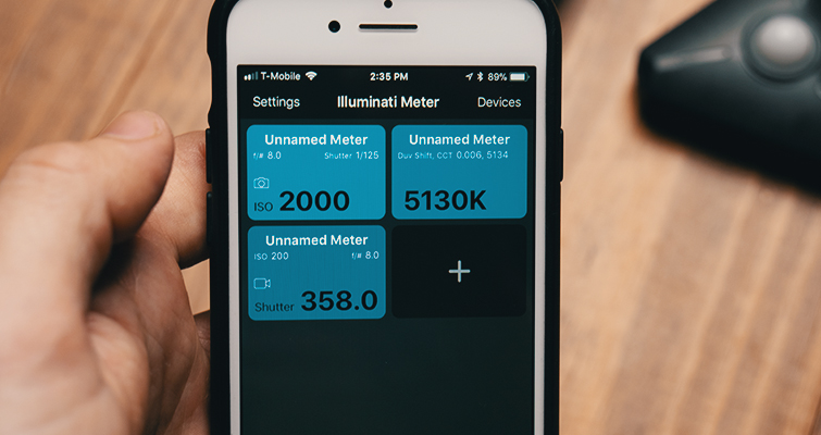 Review: The Illuminati — A Hands-Free Light Meter — App