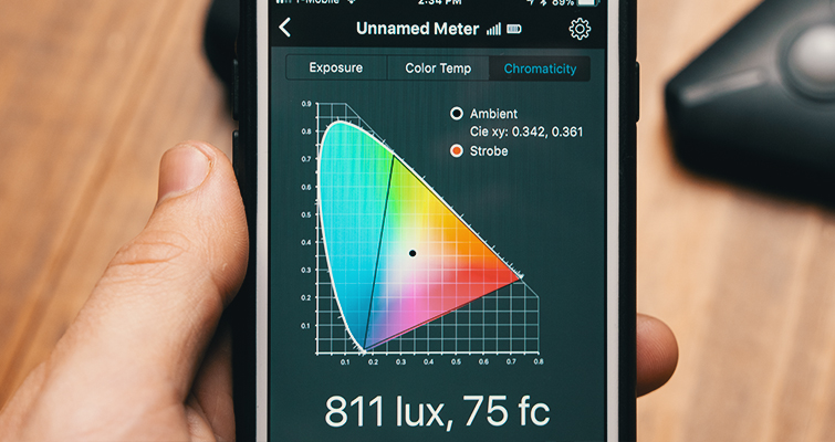 Review: The Illuminati — A Hands-Free Light Meter — Graph