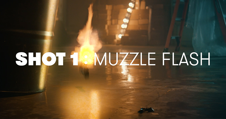 How To Create An Explosion Scene + Free Action Compositing Elements — Muzzle Flash