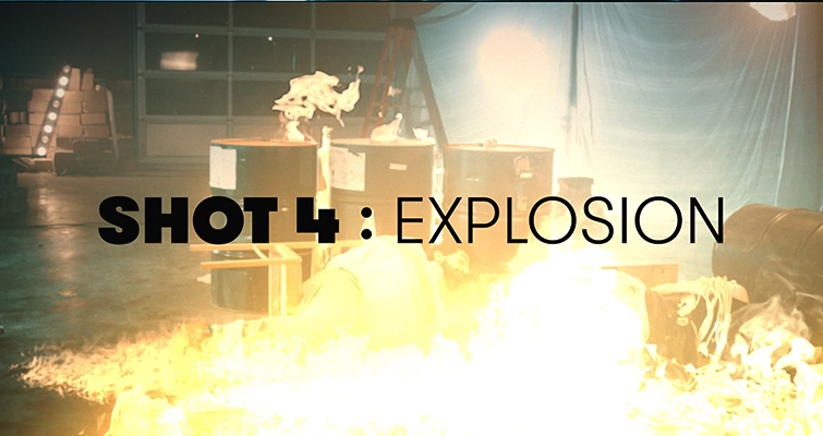 How To Create An Explosion Scene + Free Action Compositing Elements — Explosion