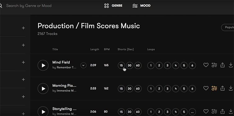 The Art of Finding the Right Song for your Film or Video — Genre