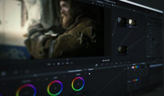 DaVinci Resolve's Lens Reflections and Film Damage FX