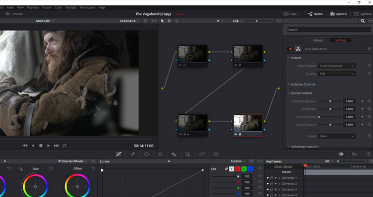 Resolve's Lens Reflections and Film Damage FX Analyzed — Gamma Increase