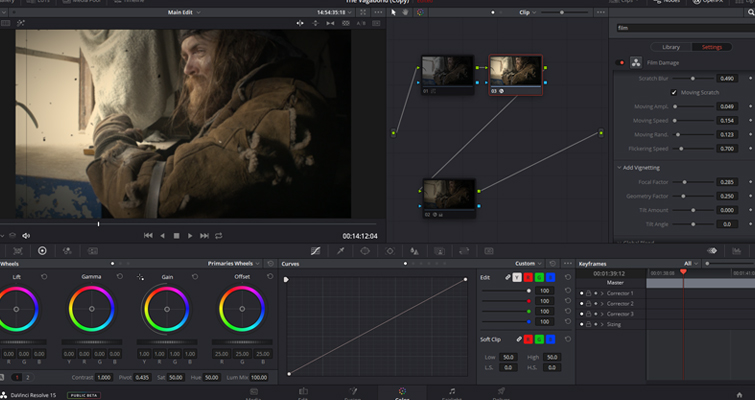 Resolve's Lens Reflections and Film Damage FX Analyzed — Increase Blur