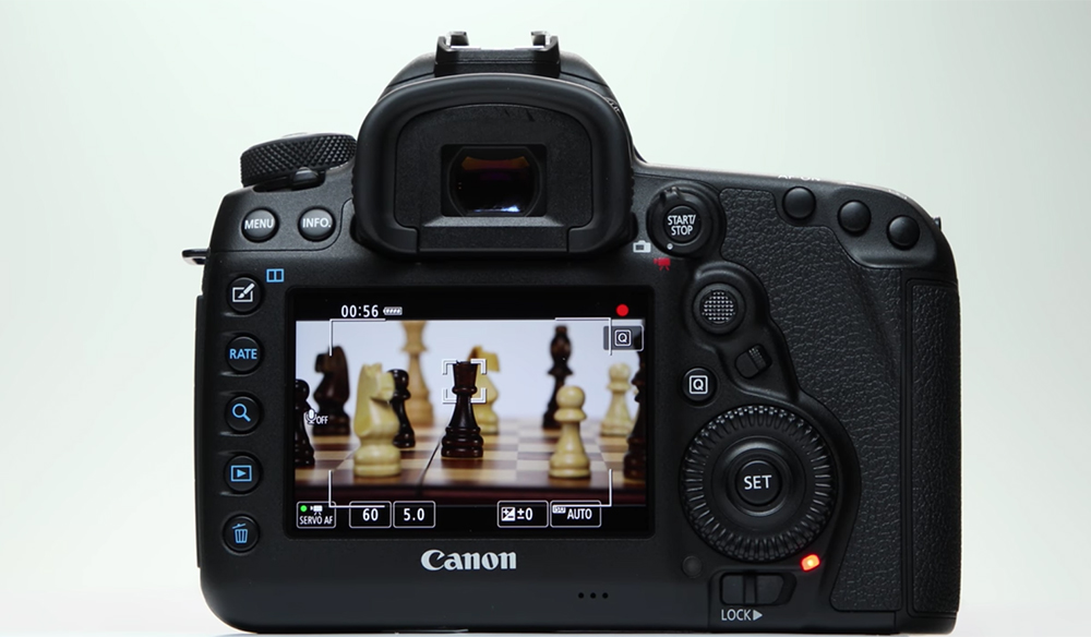 Using Canon 5D Mark IV's Auto-Focus While Shooting Video