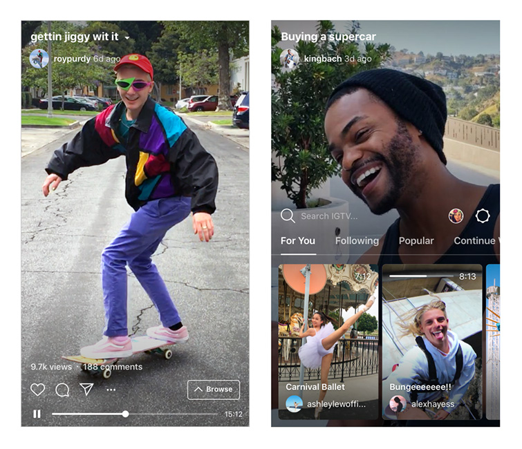 "BREAKING: Instagram Releases ""IGTV"" to Host Long-Form Videos — IGTV"
