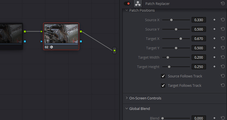 Remove Unwanted Shot Features with Resolve 15's Patch Replacer — Fast Mask