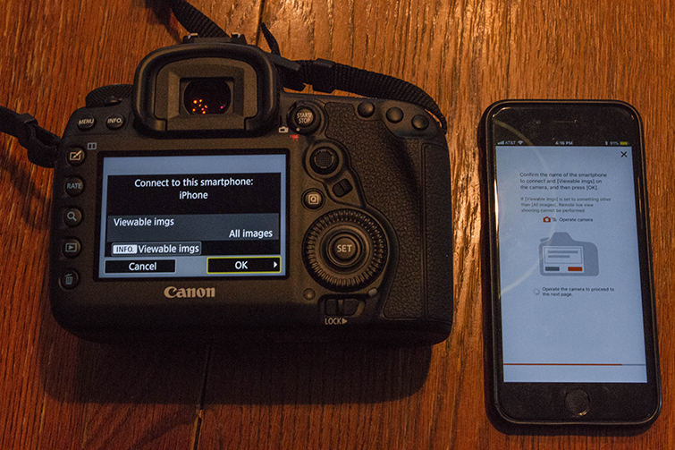 A Field Guide to the Canon 5D Mark IV's Built-in Wi-Fi — Canon App