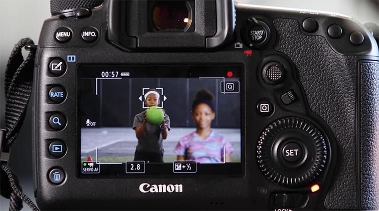 Using Canon 5D Mark IV's Auto-Focus While Shooting Video — FlexiZone Single