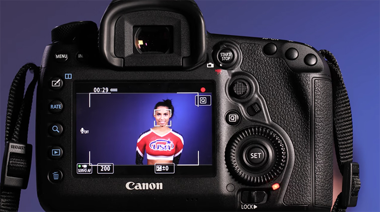 Using Canon 5D Mark IV's Auto-Focus While Shooting Video — Tracking