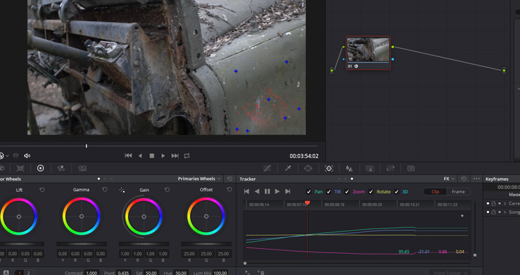 Remove Unwanted Shot Features with Resolve 15's Patch Replacer — Patch Replacement