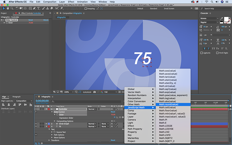 Video Tutorial: Create a Responsive Infographic in After Effects — Animate Graph