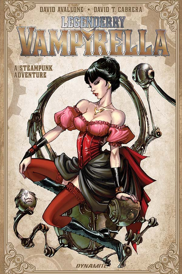Interview: Animated Advice from Films to Comics with David Avallone — Vampirella