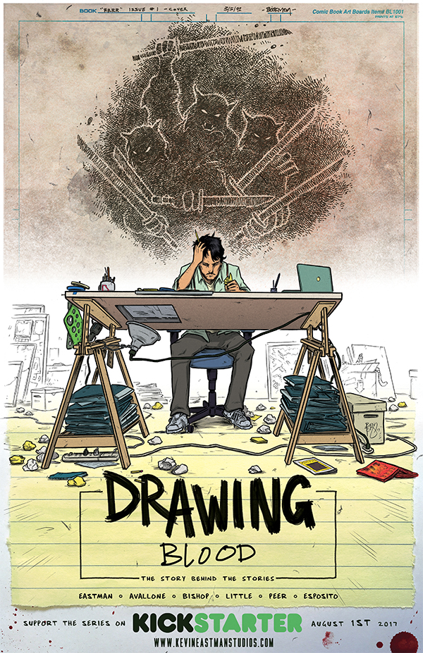 Interview: Animated Advice from Films to Comics with David Avallone — Drawing Blood