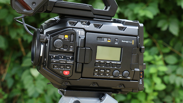 Blackmagic URSA Mini Pro External Controls