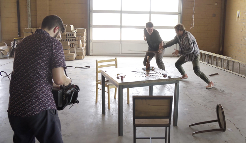 Choreographing A Fight Scene With A Hollywood Stunt Man