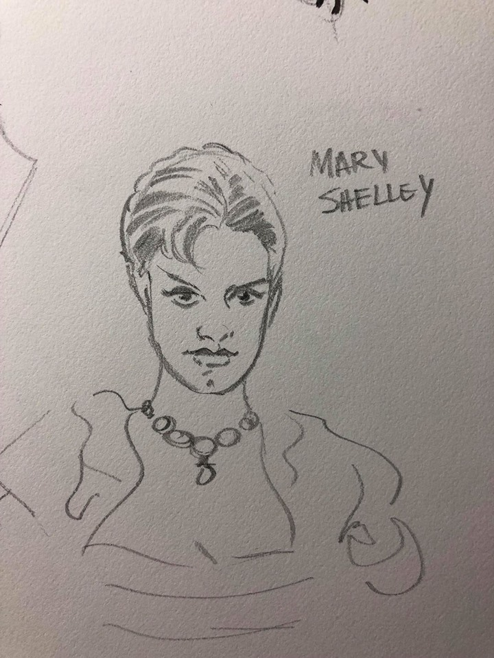 Interview: Animated Advice from Films to Comics with David Avallone — Mary Shelley