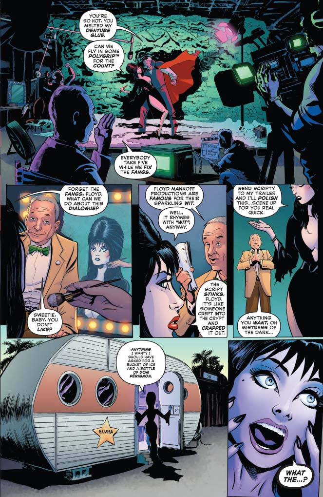 Interview: Animated Advice from Films to Comics with David Avallone — Elvira