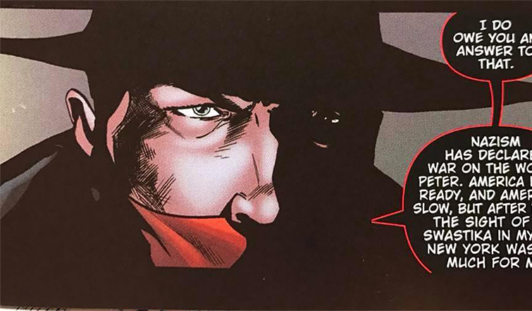 Interview: Animated Advice from Films to Comics with David Avallone — The Shadow