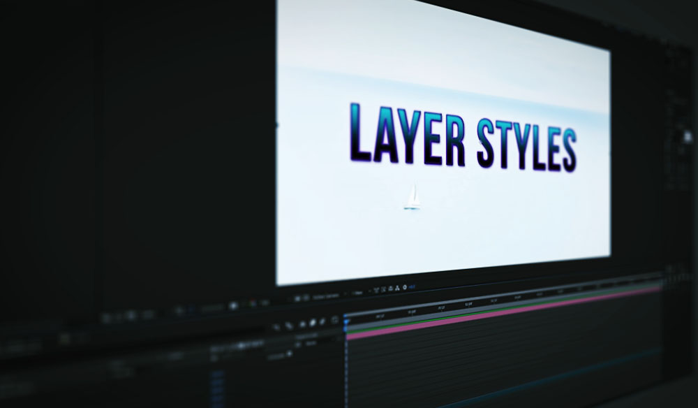 Everything You Need to Know About Layer Styles in After Effects