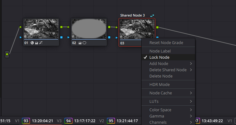 How To Use The Shared Node Feature In DaVinci Resolve 15 — Unlock Node