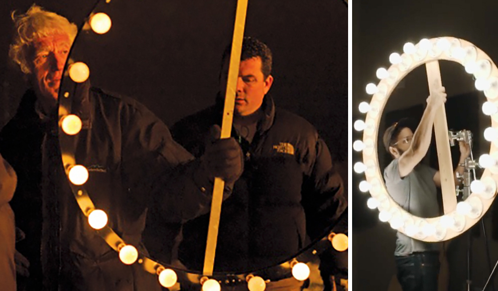 This DIY Roger Deakins-Style Ring Light Costs Less Than $150