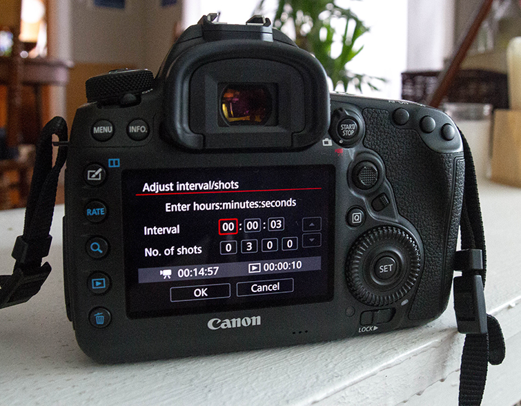 Harness the Power of the Canon 5D Mark IV's Built-in Intervalometer — Settings