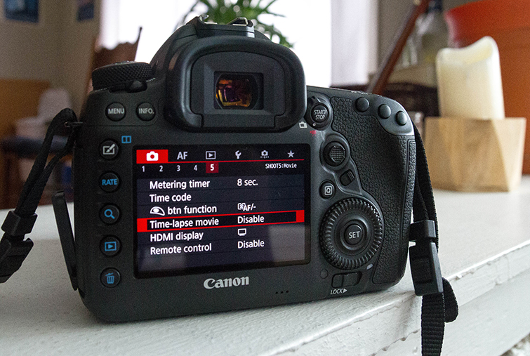 Harness the Power of the Canon 5D Mark IV's Built-in Intervalometer — Menu Options