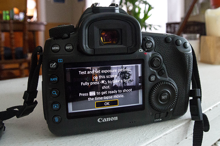 Harness the Power of the Canon 5D Mark IV's Built-in Intervalometer — Exposure Settings