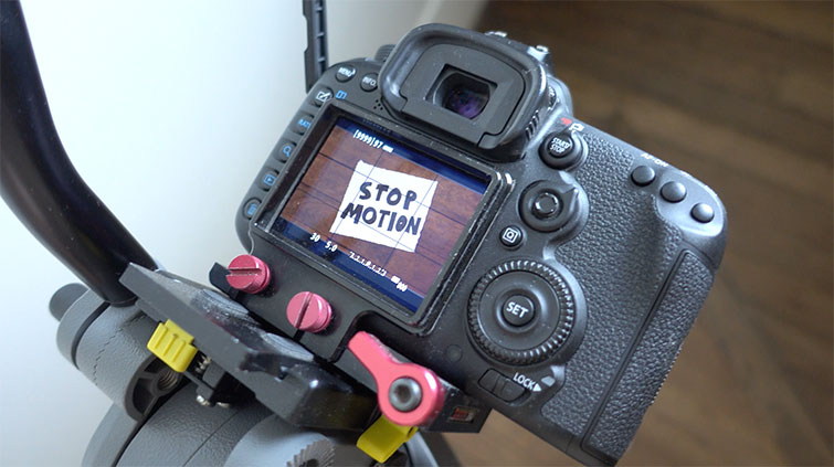 Video tutorial: how to start creating video Stop-Motion - Camera position