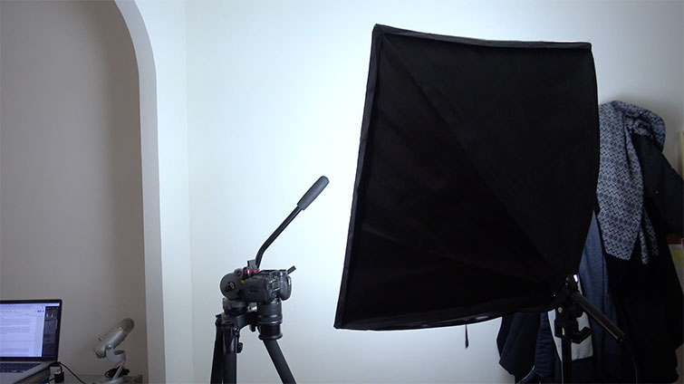 Video tutorial: how to start creating video Stop-Motion: configuration of the lighting