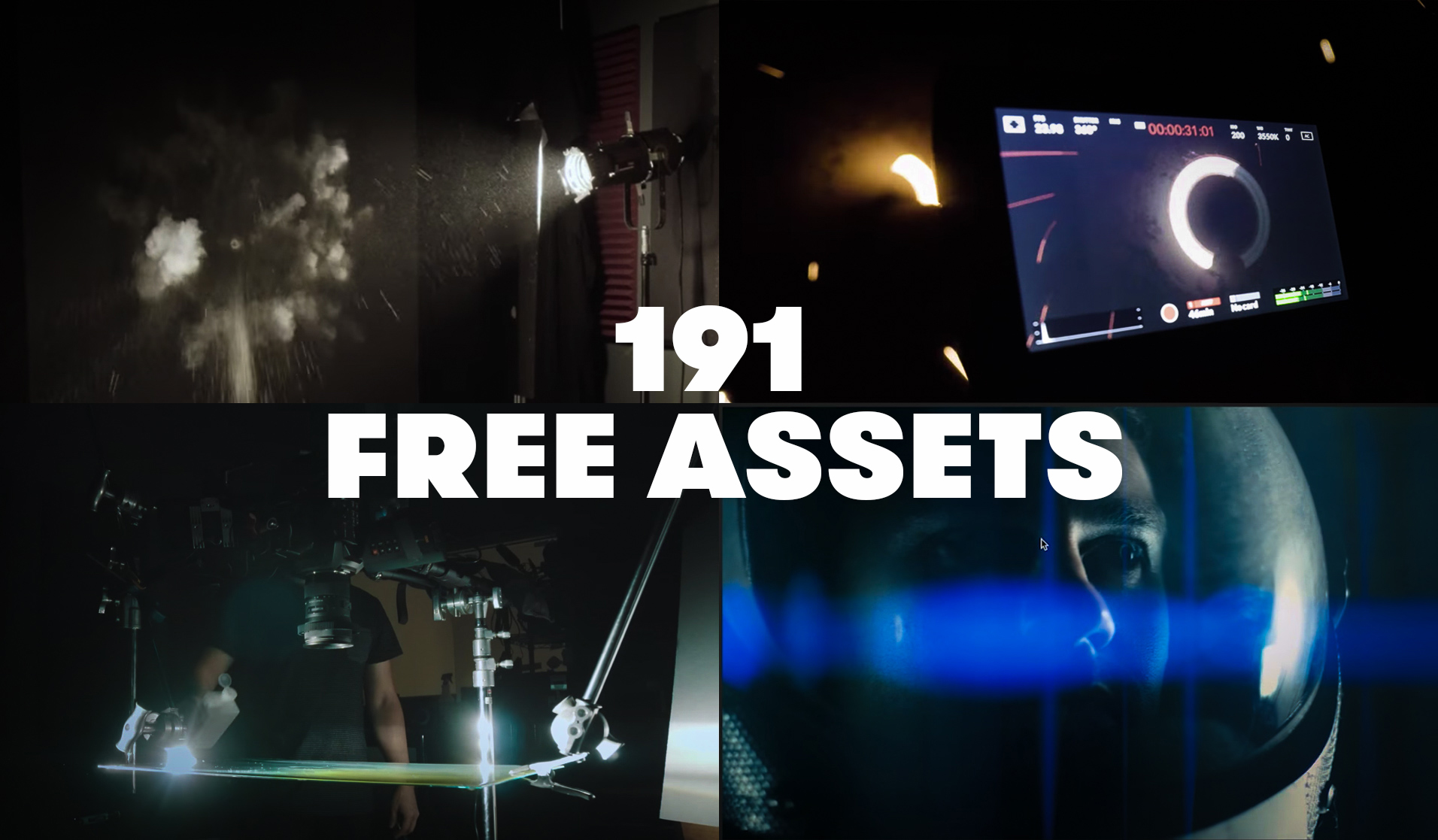 191 Free Motion Graphics, Sound Effects, Action Elements, and More