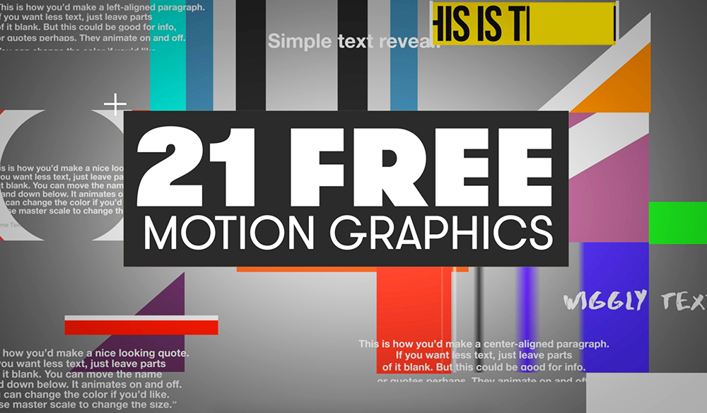 21 free motion graphics templates for adobe premiere pro maxwellsz