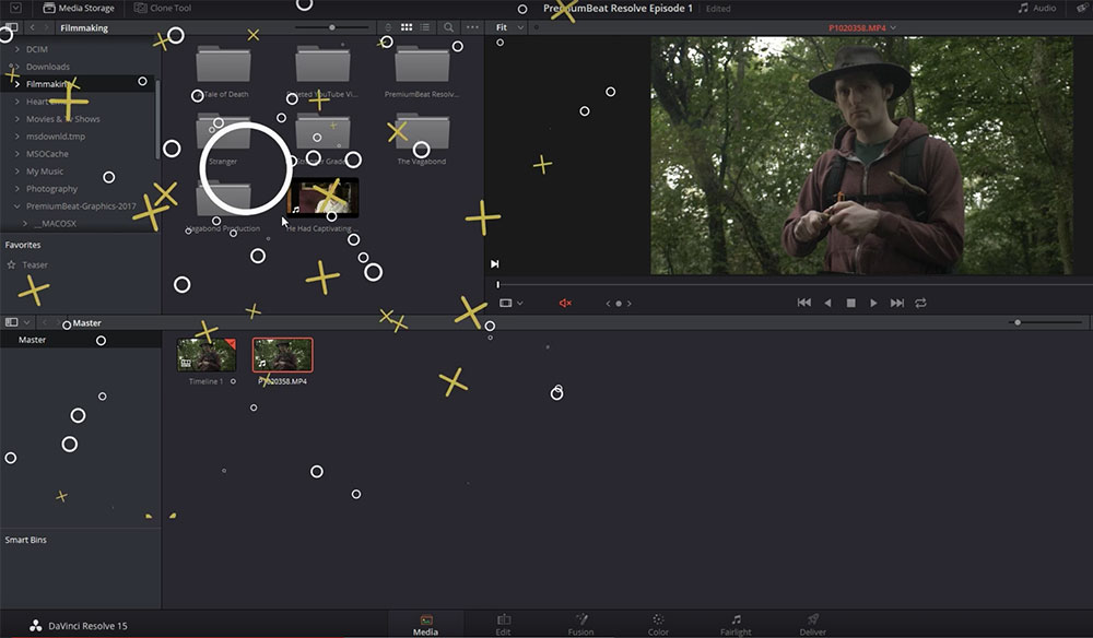 DaVinci Resolve 15 Video Crash Course — The Media Page