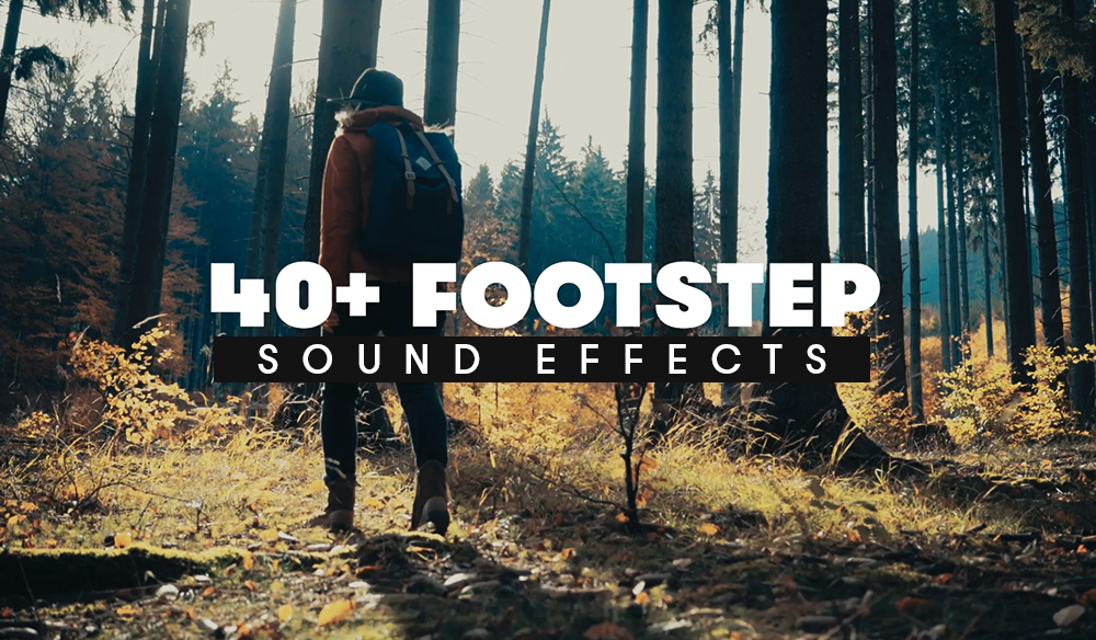 40+ Free Footstep Foley Sound Effects for Sound Design