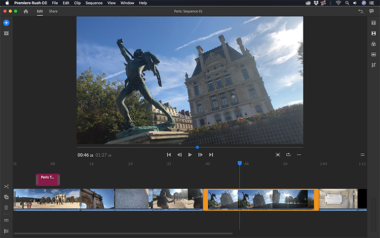 Take a Video Tour of Adobe's New Premiere Rush CC — Editing in Rush