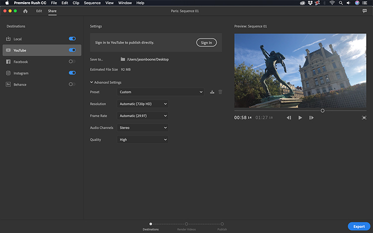 💐 Adobe premiere rush cc android apk | Adobe finally releases