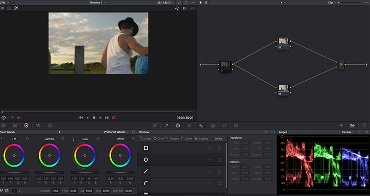 Color Grading Tips: The Ins and Outs of Correcting for a Pink Sky — Add Nodes