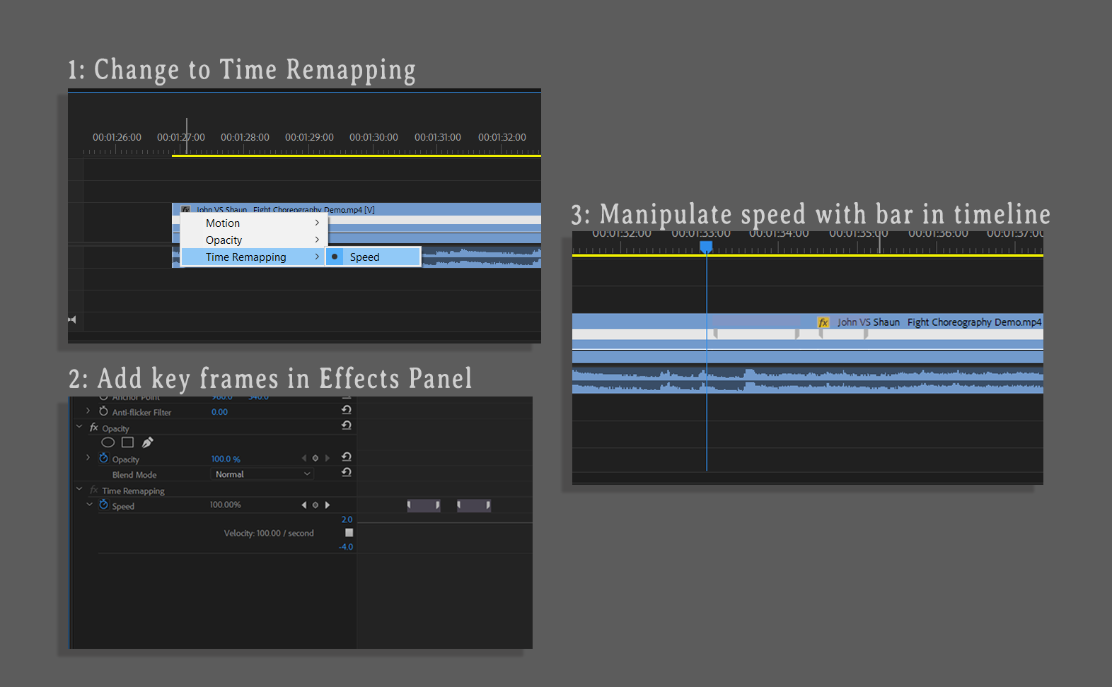 Production Tip: How to Edit a Fight Scene for Rhythm and Pacing — Speed Ramping