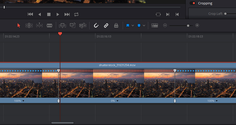 Quick Tip: Creating Stills and Pauses In Resolve 15 — Speed Points