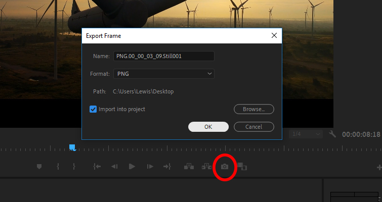 Quick Tip: Creating Stills and Pauses In Resolve 15 — Export Frame