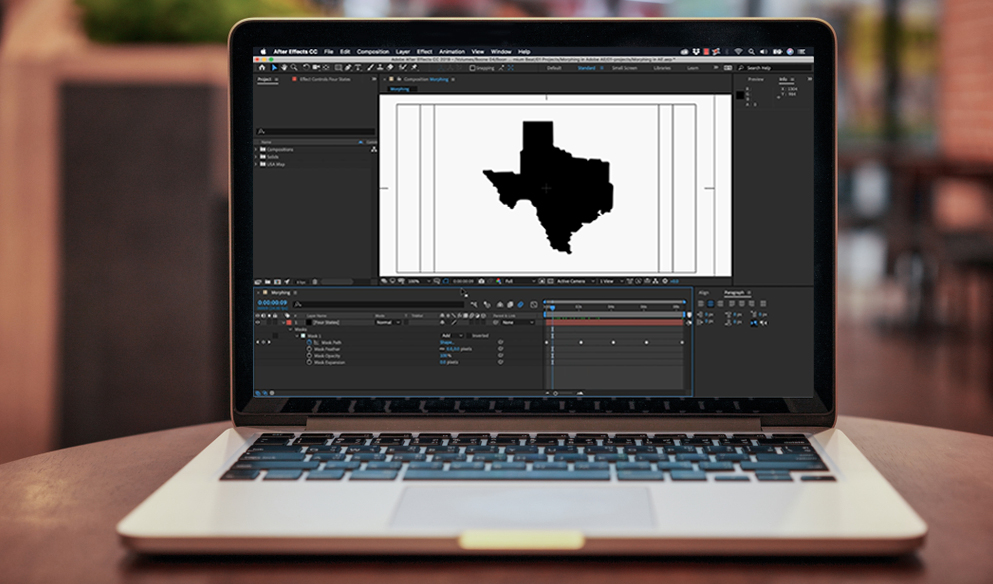 Video Tutorial: How to Morph Graphics Using Adobe After Effects