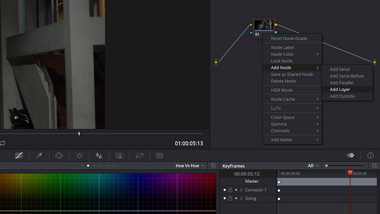 Post-Production Tip: Isolating and Hiding Noise in Your Footage — Create Layer Node