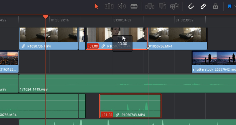 DaVinci Resolve 15 Video Crash Course — The Edit Tools — Time Code