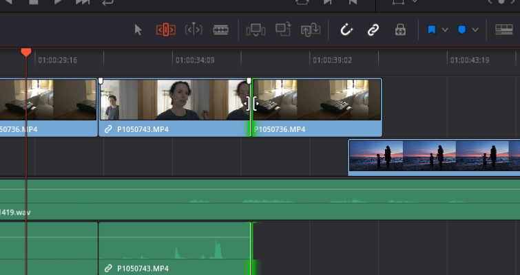 DaVinci Resolve 15 Video Crash Course — The Edit Tools — Roll Edit
