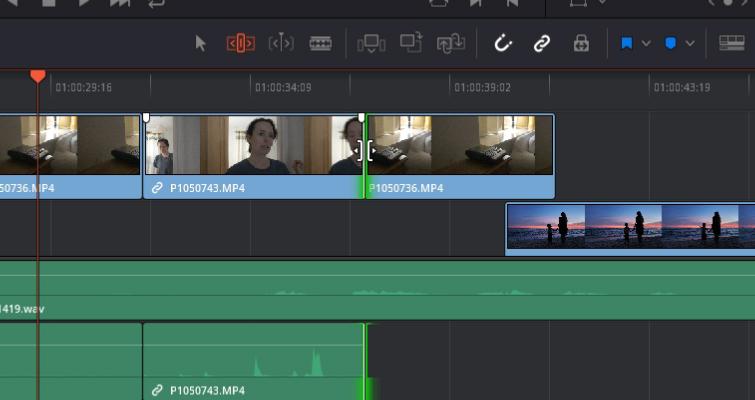 DaVinci Resolve 15 Video Crash Course — The Edit Tools — Roll Edit